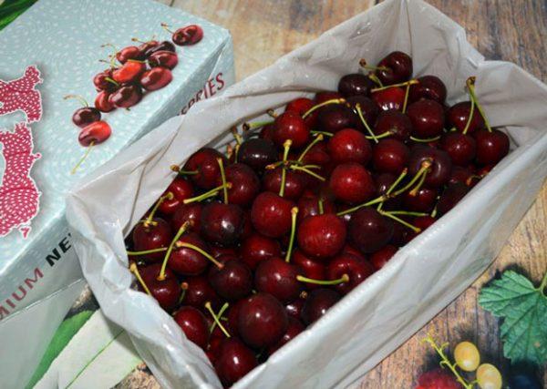 Hộp cherry New Zealand 2kg
