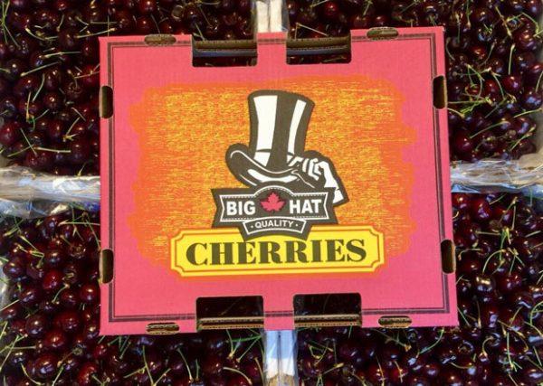 Cherry Big Hat