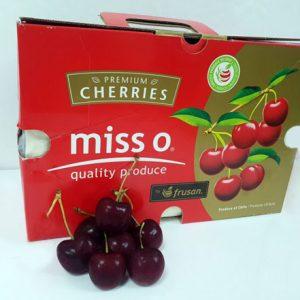 Cherry đỏ Chile Miss O thùng 2.5kg
