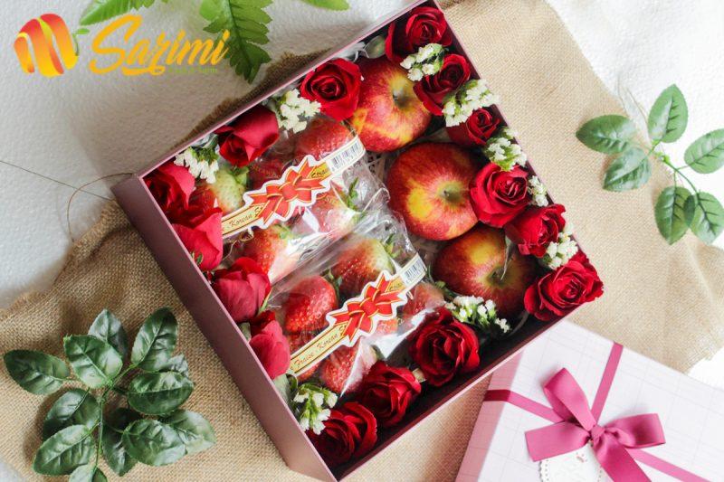Hộp quà tết làm từ trái cây nhập khẩu, tại sao không?
