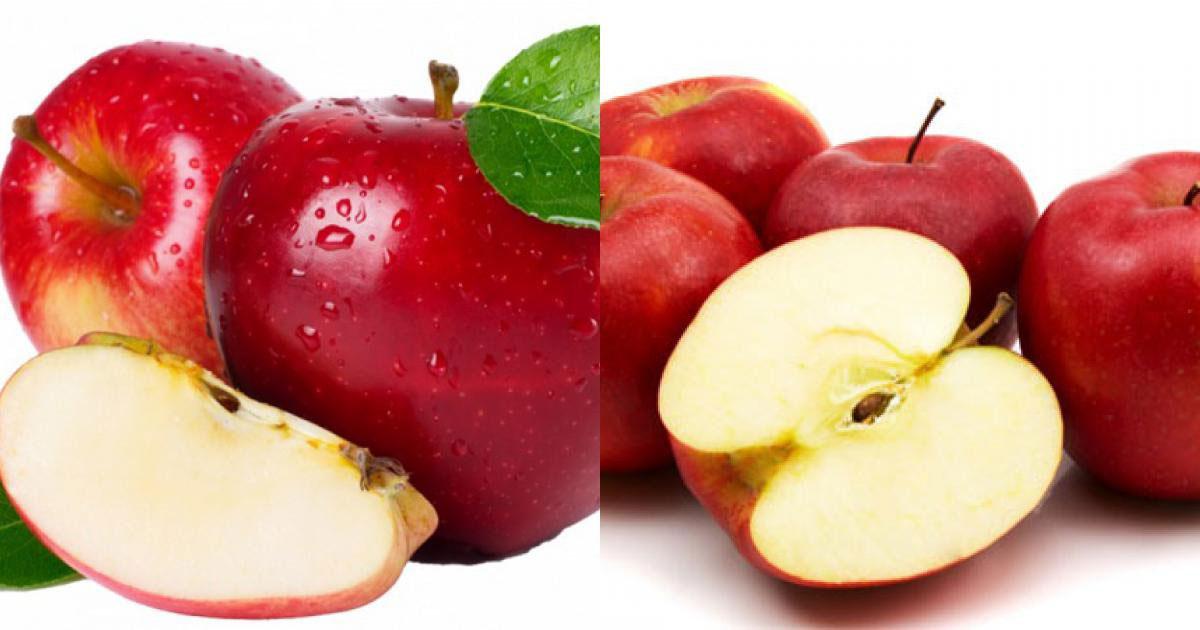 Cách chọn táo ngon không lệch phát nào